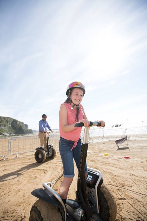 Segway in Cornwall