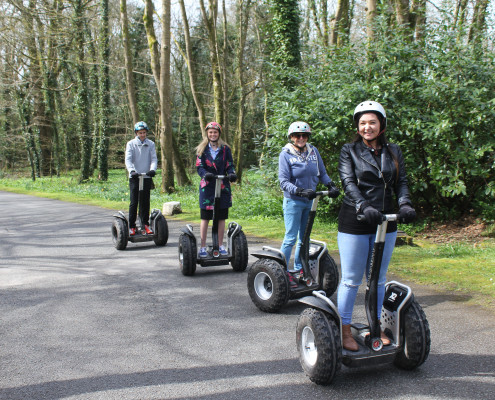 Segway at Clowance