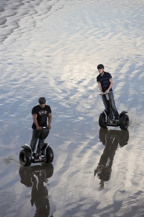 Segway beach rides